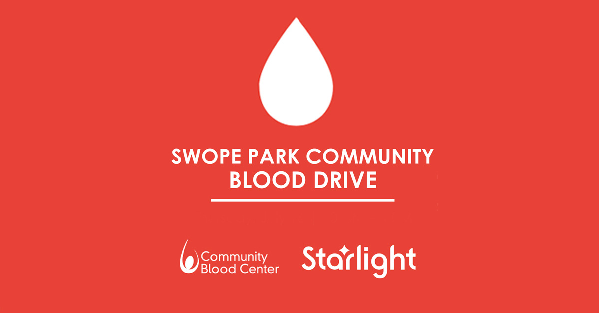 Starlight to Hold September Swope Park Community Blood Drive