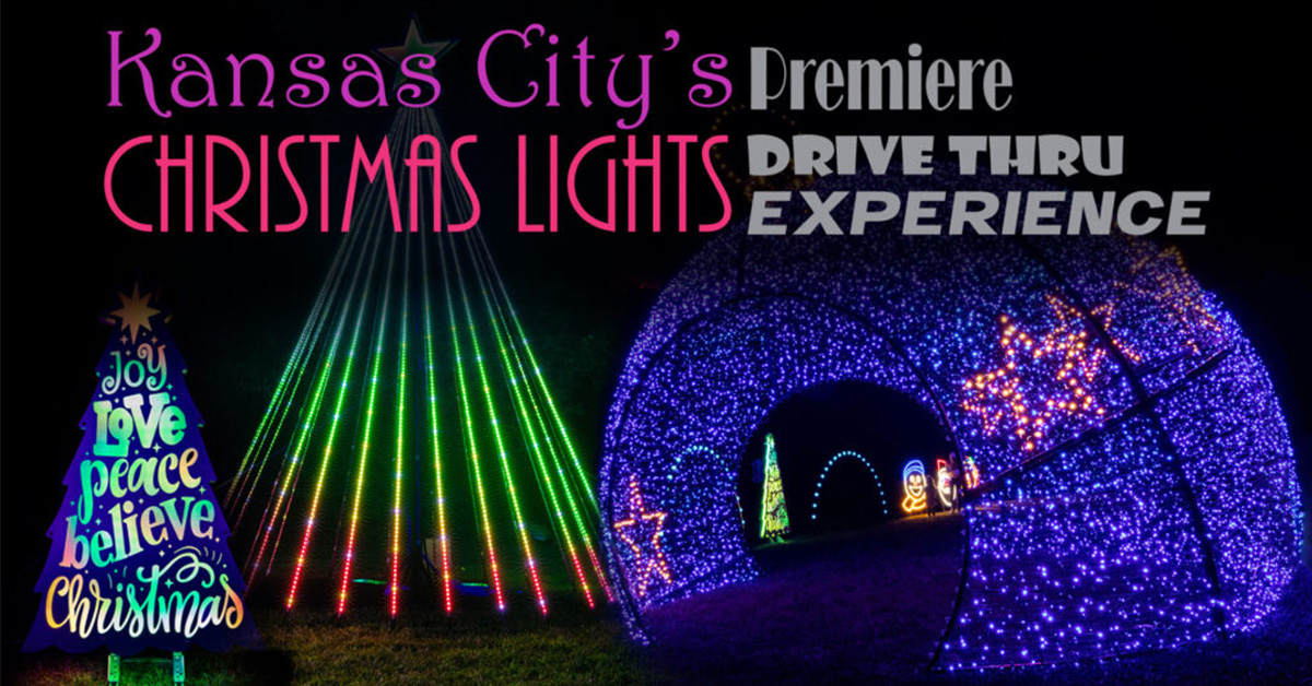KC Parks to Host Holiday Lights Experience