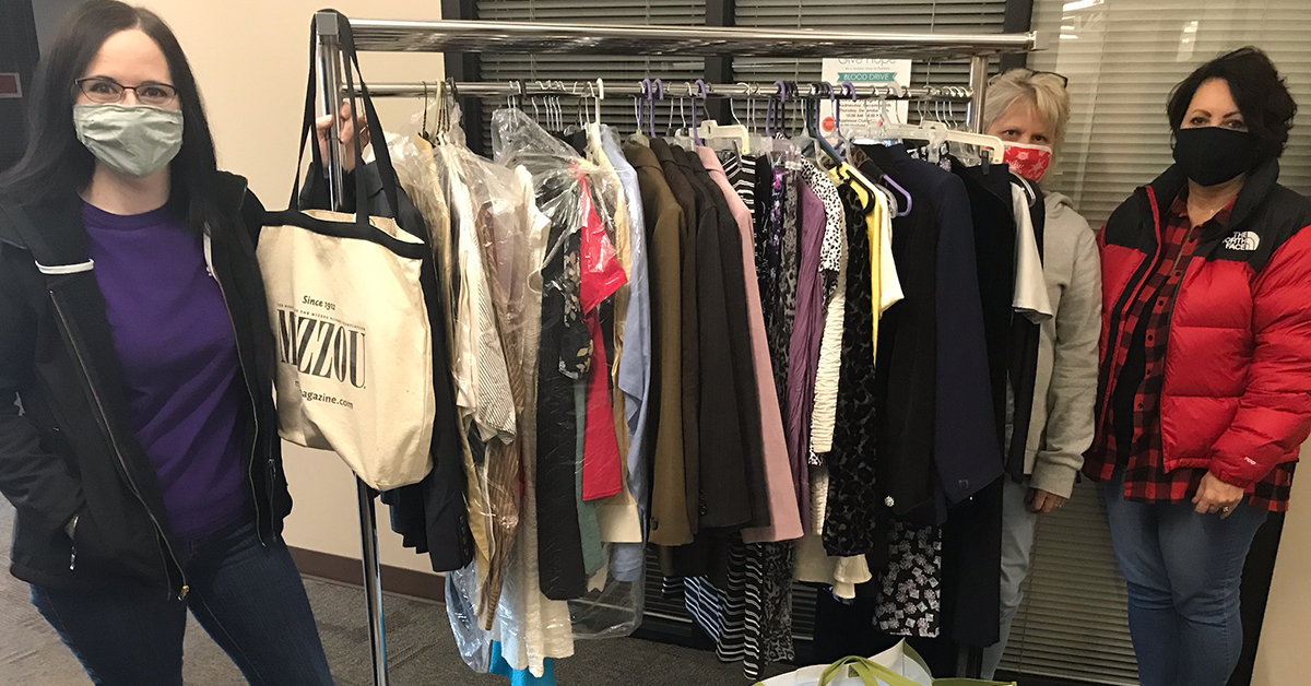Starlight Partners with Community Organizations for Successful Clothing Drive!