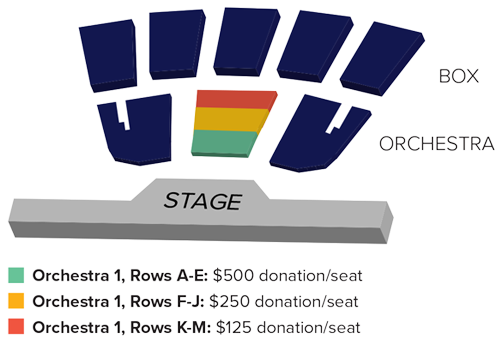 Donor Priority Seating - Broadway