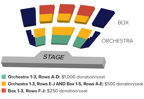Donor Priority Seating - Concerts