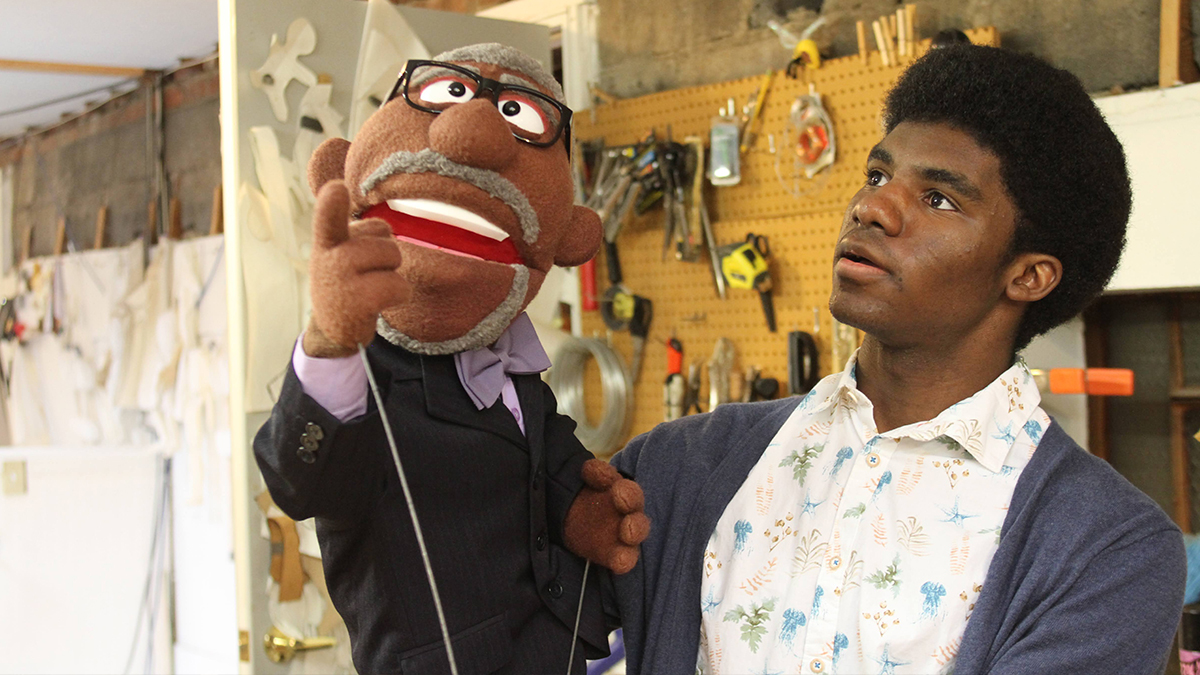 Vincent Legacy Scholar Earns Competitive Spot at Jim Henson Puppetry Workshop