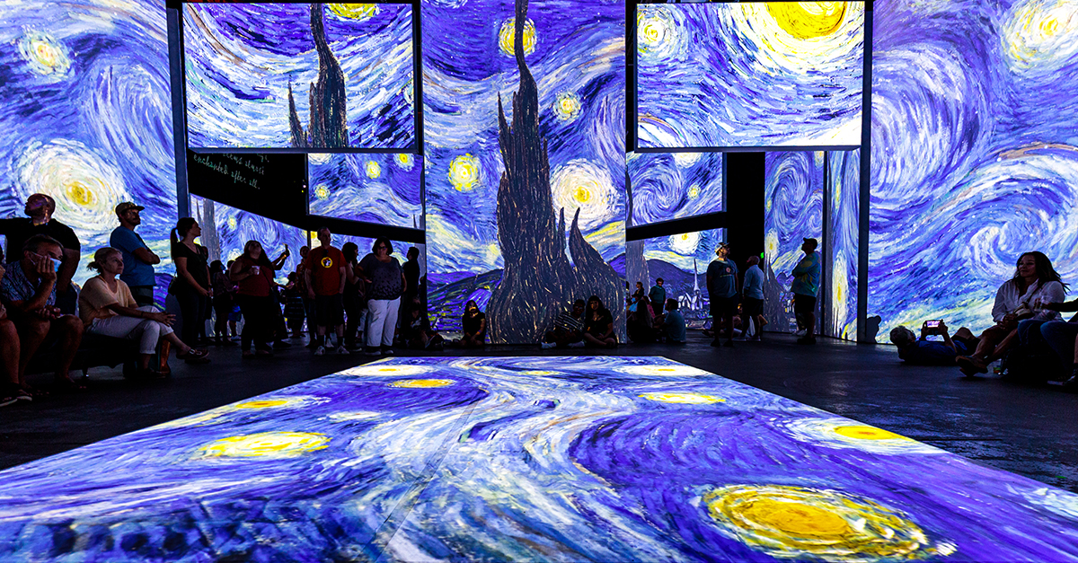 Don't Miss Out – Van Gogh Alive Opens This Month!