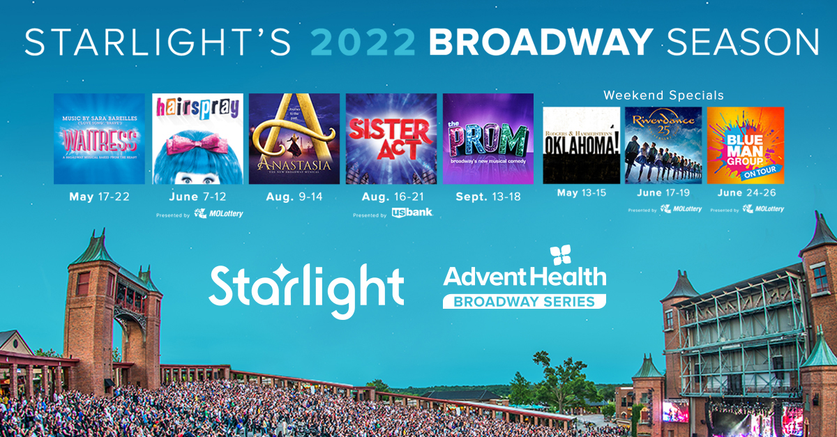 Just Announced – the 2022 AdventHealth Broadway Series!