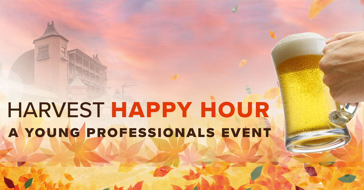 Join Young Friends of Starlight for Harvest Happy Hour
