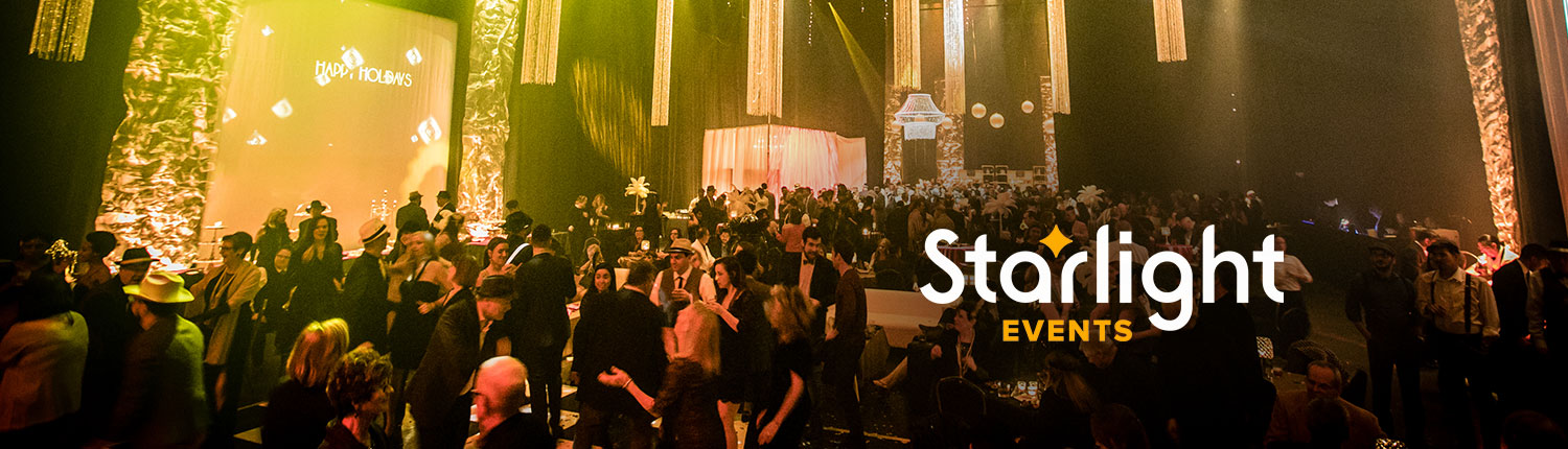 Spring dates open for your event at Starlight!