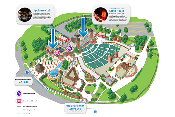 View our venue map to find your way around Starlight Indoors and to see all that we offer our patrons.