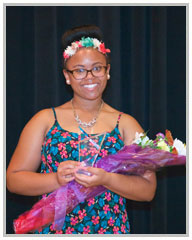 2015 Vincent Legacy Scholarship Winner - Nia Phillips