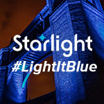 Starlight Goes Blue to Honor Essential Workers