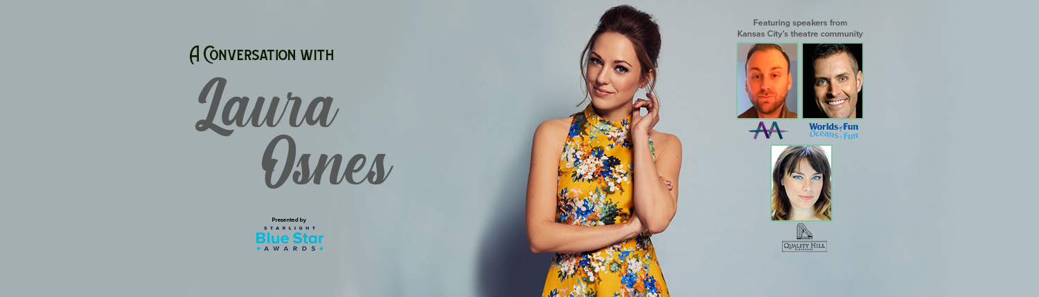 Chat with Broadway's Laura Osnes Live at Starlight