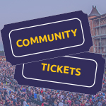 Community Ticket Applications Due March 15