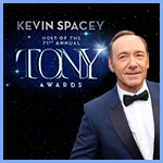 Tony Award Winner Kevin Spacey to Host the 71st Annual Tony Awards