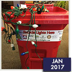 Holiday Lights Recycled for a Good Cause