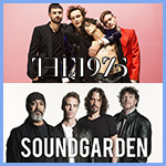 The 1975 & Soundgarden Ready to Rock Starlight