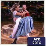 ABC's Ginger Zee is the Belle of DWTS Ballroom