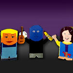 Download Our Broadway Themed Paper Toys
