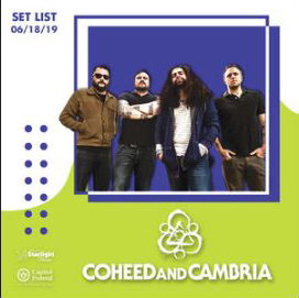 Coheed and Cambria playlist