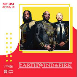 Earth, Wind and Fire playlist