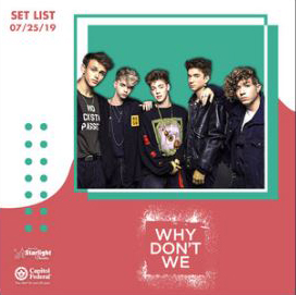 Why Don't We playlist