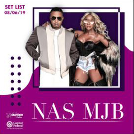 NAS and Mary J Blinge playlist