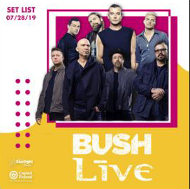 Bush and Live playlist
