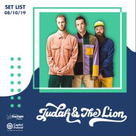 Judah and the Lion playlist