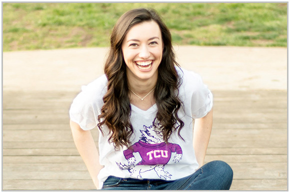 Alexa Morgan is ready to continue her education at Texas Christian University